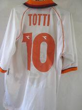 Roma 1997-1998 Totti 10 lejos de Fútbol Camisa Grande/34738