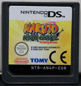 Naruto: Ninja Council für Nintendo DS/3DS/2DS - Modul - Guter Zustand