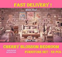 🌸Cherry Blossom 🌸 Sakura Bedroom Furniture Set 52 Pcs FASTEST!!!