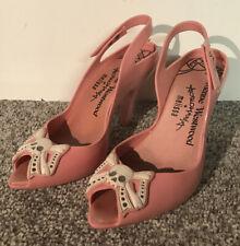 Vivienne Westwood & Melissa Pink Lady Dragon Skull Heels UK Size 4 (Eur 37)