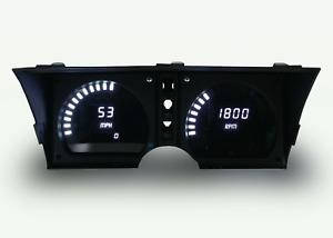 C3 Corvette 1978-1982 LED Digital Dash Gauge Instrument Cluster Direct Fit WHITE