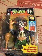 New listing Spawn Clown Head Violator Action Figure McFarlane 1994 New Free ship