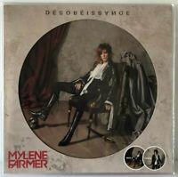 "Mylene Farmer Désobéissance 12"" Picture Vinyl LP Album Limited Desobeissance Neu"