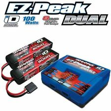 Traxxas 2990 EZ-Peak Dual Charger w/ Two 5000mAh 25C 3S iD LiPo Batteries