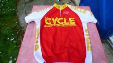 maillot de vélo Le Cycle l'Officiel des cyclotouristes Forum Bike 68cm x 47 cm