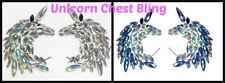 Rave Unicorn Breast Stick On Boob Pasties Chest Body Bling Breast Jewels Sticker