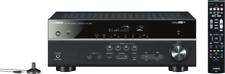 YAMAHA RX-V483 AV-Receiver Schwarz Music Cast , Wireless LAN, DLNA, WiFi