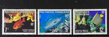 FRENCH POLYNESIA  327 - 329  Beautiful  Mint  NEVER  Hinged  Set  FISH  AG