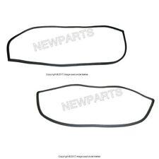 For Mercedes W110 190 Set of Rear & Front Windshield Seals Weatherstrip OE