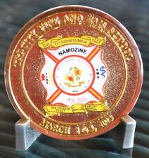 Tri-City Fire and EMS School March 2013 In Honor of Fallen Comrad Challenge Coin
