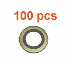(100) Marli 14mm Metal Rubber M14 Oil Drain Plug Gasket Fits Mazda Ford GM