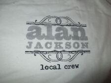 Alan Jackson Local Crew Concert Tour (Xl) T-Shirt