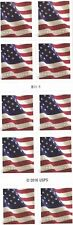 10 Usps Forever Stamps Us Flag Postages stamp design may vary