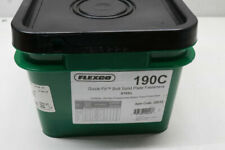 More details for flexco 190c 20013 quick-fit bolt solid plate fasteners steel (pack of 100)