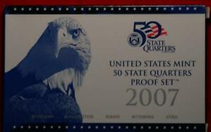 Uncirculated 2007 United States 50 State Quarters Proof Set