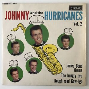 """JOHNNY AND THE HURRICANES EP - 1964 - """"VOL.2"""" - London REX1414 - *EX/EX*"""