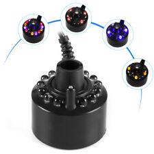 Water Ultrasonic Mist Maker Fogger Ultrasonic Mist Maker Humidifier Colorful Led