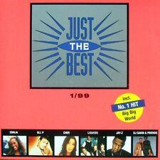 Just The Best 1/99 2CD:LOONA,BASIS,NAIDOO,KAI TRACID,FIVE,DA HOOL,XAVIER NAIDOO