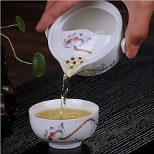 Tea set Include 1 Pot 1 Cup, High quality elegant gaiwan,Beautiful easy teapot