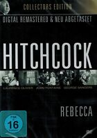 DVD NEU/OVP - Rebecca (Alfred Hitchcock) - Laurence Olivier & Joan Fontaine