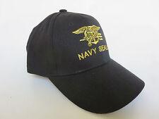 Ejército de los E.E.U.U. Navy Seals Gorra Béisbol Black Insignia Águila & Ancla