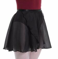Adult Sheer Wrap Skirt Ballet Belly Dance Chiffon Skate Dress Skirt Wrap 9 Color