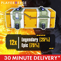 Outriders - 12x Legendary/Epic Loot Chest - CT15 / LV50 - PC/PS4/5/Xbox One/X