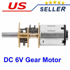 1:1000 DC 6V 10 RPM High Torque Reduction Gear Motor Gear motors Mini