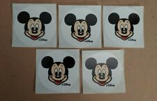 Official Disney World Stickers - WDW - Lot of 5 - Mickey Mouse