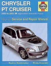 Haynes Owners Workshop Car Manual PT Cruiser Service Repair Handbook H4058
