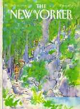 New Yorker COVER 07/30/1984 - Nature Hike - GETZ