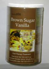 Body Zen 3 Step Foot Therapy Treament BrownSugar Vanila