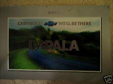 2001 CHEVY IMPALA OWNERS MANUAL  !!!!!