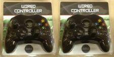 2 LOT NEW Black Controller Control Pad for Original Microsoft XBOX X BOX System