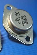 POWER TRANSISTOR Motorola MJ15004 PNP 250watt 140V 20A