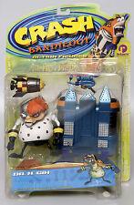 CRASH BANDICOOT DR N GIN Action Figure Series 2 Resaurus 1999 NEW! RARE!