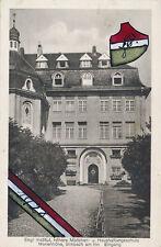 Oberösterreich Simbach Inna Mädchen Schule Studentika gemalt Wappen 1928