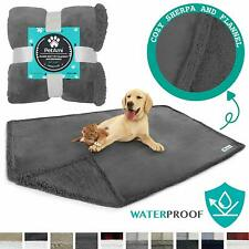 Petami Waterproof Dog Blanket For Bed, Couch, Sofa | Waterproof Dog Bed Cover Fo