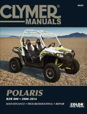 CLYMER SERVICE REPAIR MANUAL POLARIS RZR RAZOR RAZER 800 RZR800 4 S 2008-2014