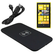 Qi Wireless Charging Pad For Nokia Lumia 920 820 720 930 1020 With USB Cable