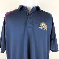 Cooperstown Baseball Polo Shirt Mens Large All Star Blue Sewn Logo Casual