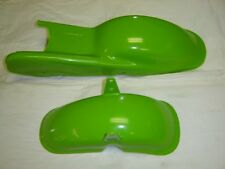 Honda QA50 K0 Green Plastic Fender Set Front and Rear Fenders Reproduction