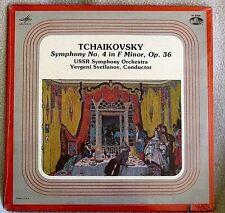 Svetlanov USSR Orch Tchaikovsky Symphony 4 1983 Allegro/Melodiya CLASSICAL SS LP