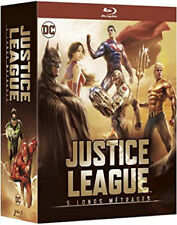 Justice League 5 Movie Collection NEW Blu-Ray 5-Disc Boxset Jay Oliva