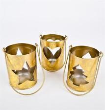 Corone e candele d'Avvento in oro