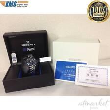 Seiko PADI SBDN035 LIMITED EDITION Prospex Diver Scuba Titanium Solar Watch EMS