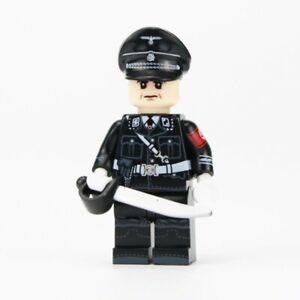 ⭐Lego ww2 Soldat Allemand Commandant Figurine Militaire Officier german guerre ⭐
