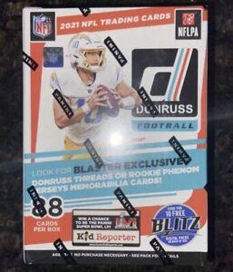 2021 Donruss football blaster Box factory sealed. 88 cards per box.