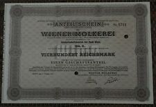 share stock bond Vienna Wien 1943. year Austria