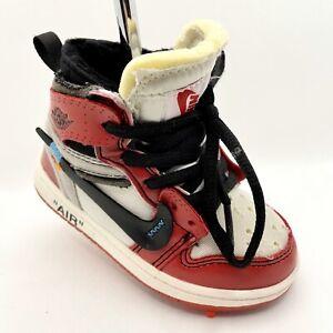 Custom Off White Air Jordan Retro 1 Chicago Shoe Sneaker Putter Cover